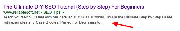 SEO Optimized Description example