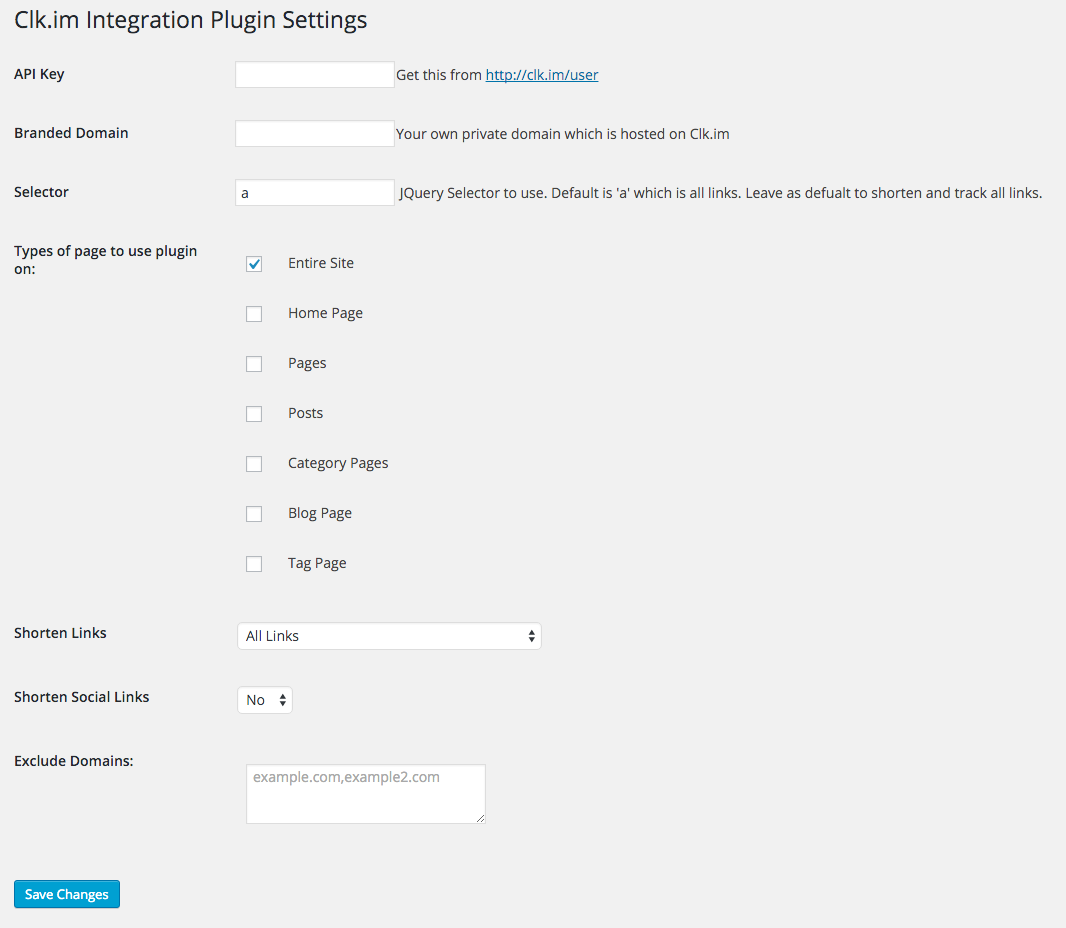 How Clk.im Integration Plugin Works