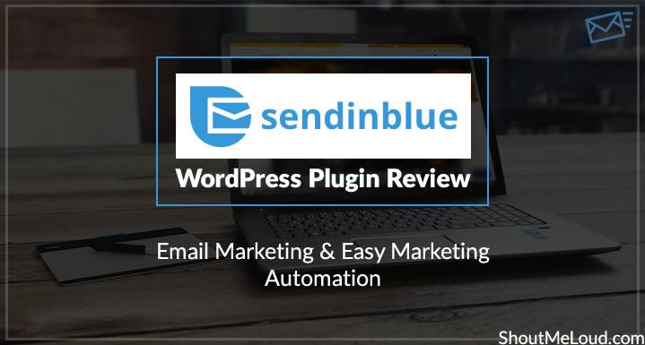 SendinBlue WordPress Plugin Review