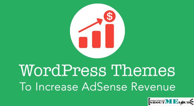 AdSense WordPress Theme for better Revenue