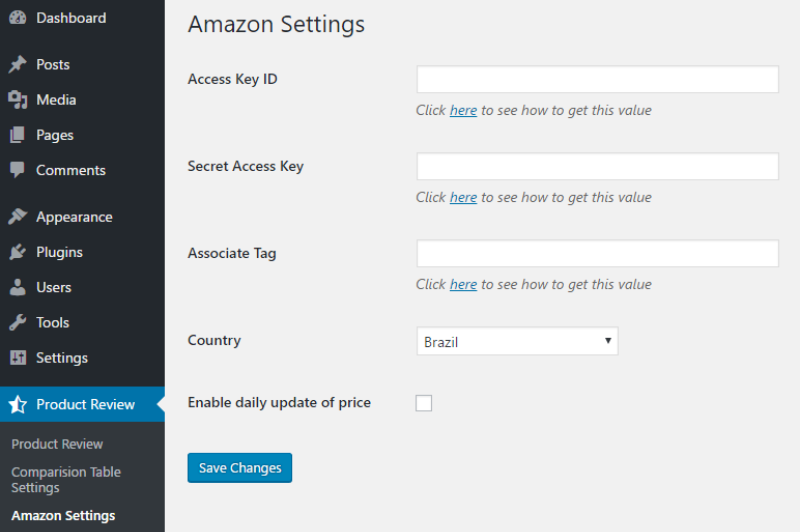 amazon-settings