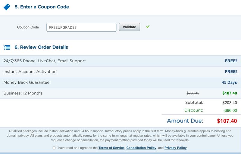 Hostgator best discount