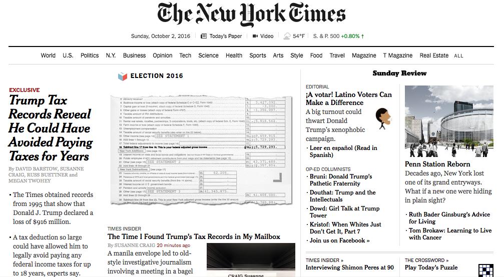 new york times case study