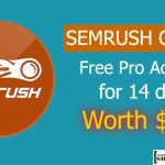 SEMRUSH Coupon: Free Pro Account for 14 days Worth $150