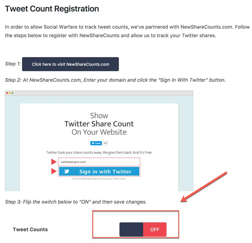 tweet-count-registration