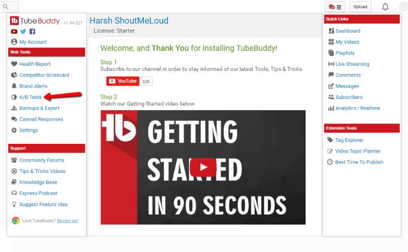 tubebuddy-ab-tests