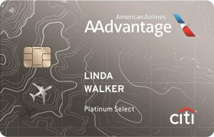 Citi AAdvantage Platinum Select MasterCard Art