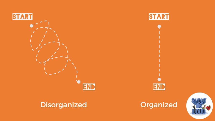 The organized people and the messy creatives
