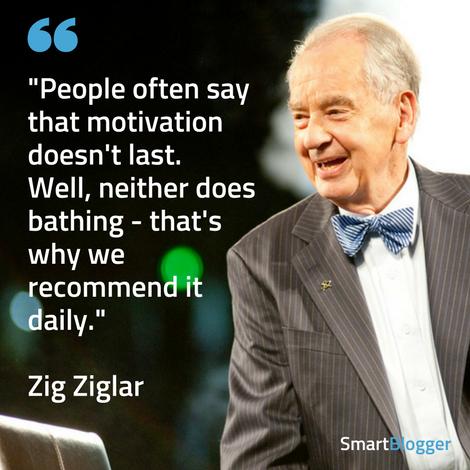 Zig Ziglar motivation quote