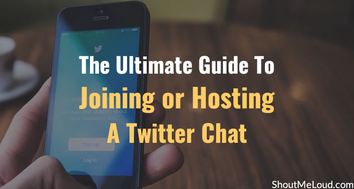 Guide To Joining or Hosting A Twitter Chat