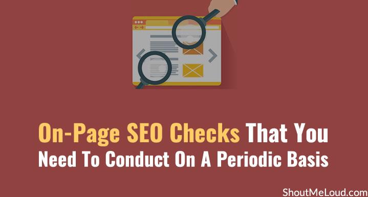 On-Page SEO Checks