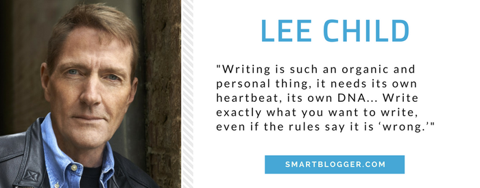 Lee Child - Writing Tips