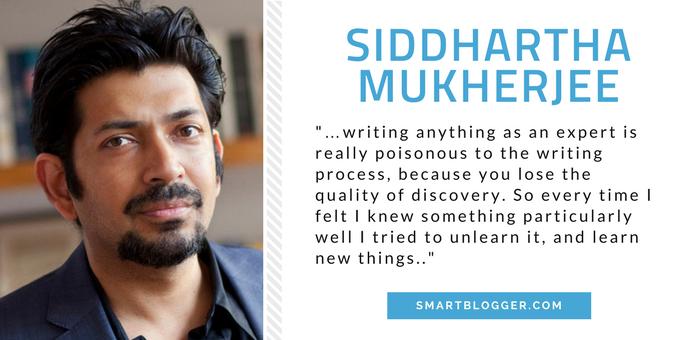 Siddhartha Mukherjee - Writing Tips