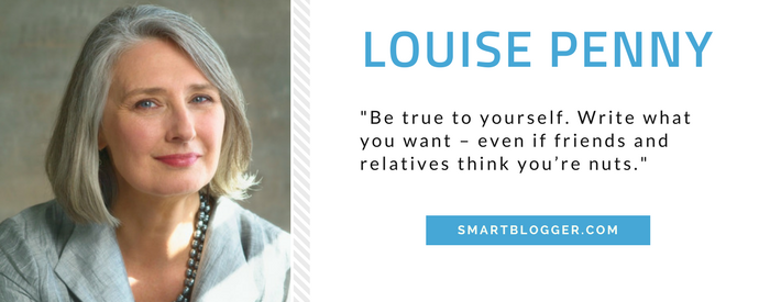 Louise Penny - Writing Tips