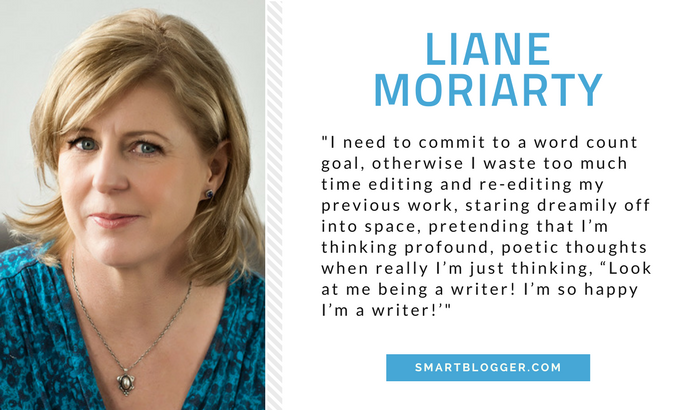 Liane Moriarty - Writing Tips