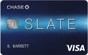 Slate from Chase Card Art