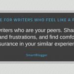 Advice to Writers Who Feel Like a Fraud (from a Writer Who Feels Like a Fraud)