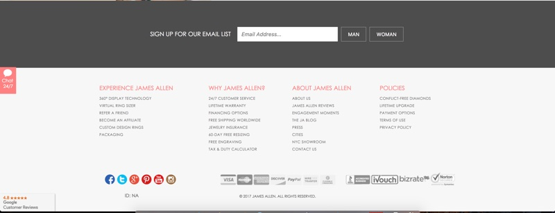 Footer Example