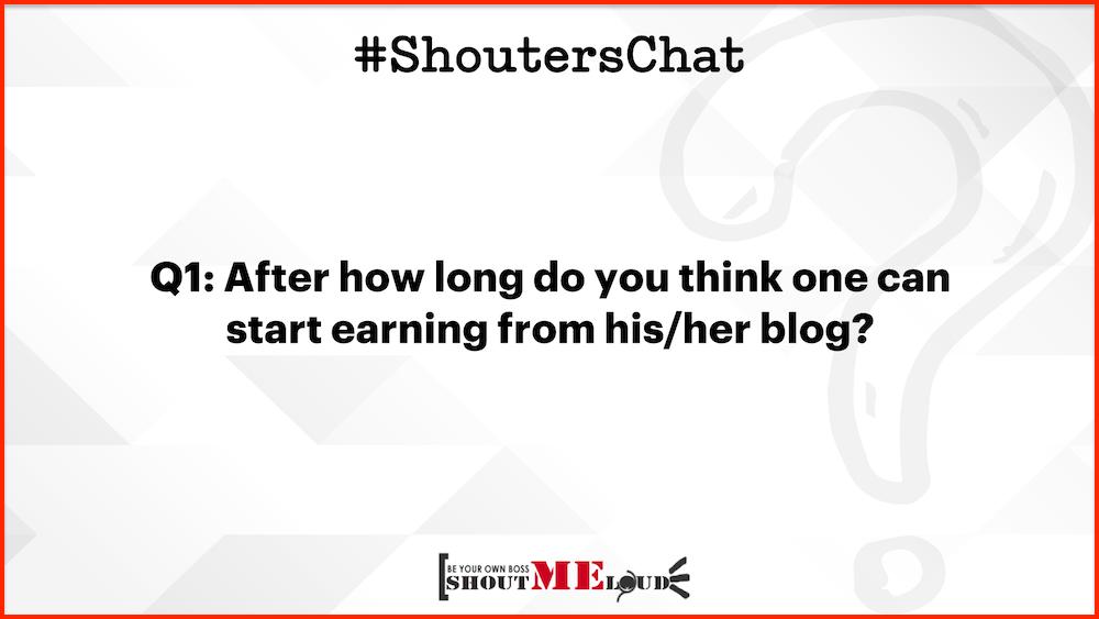 Start earning from blog