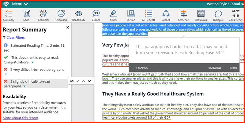 prowritingaid_readability