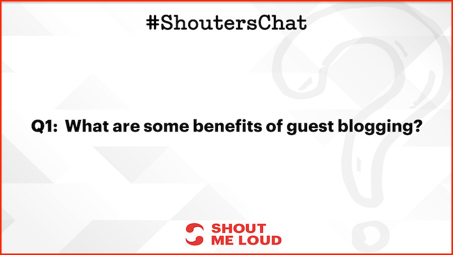 What are some benefits of guest blogging