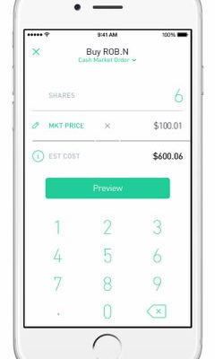 Robinhood Commission-Free Investing Price At Release