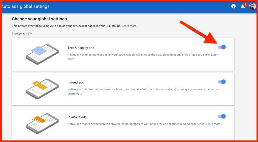 Auto-Ads-AdSense-global-settings