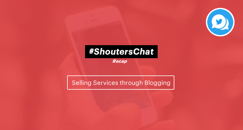 Selling Services through Blogging