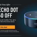 Audible Promo: 12 Audiobooks + Echo Dot for $99.50
