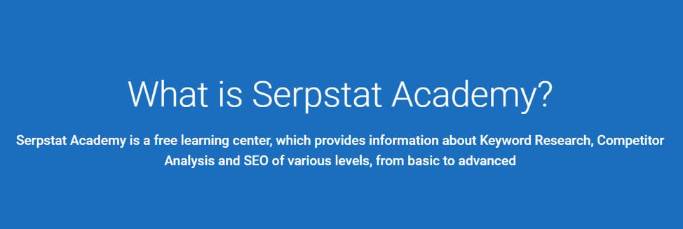 Serpstat SEO Training