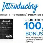 Marriott Rewards Premier Plus Card: New 100,000 Point Bonus