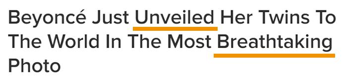 Put Power Words in Your Headline