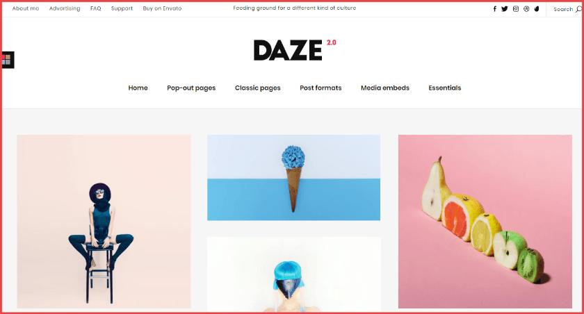 daze theme