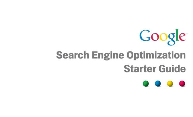 eBook: Google SEO Starter Guide